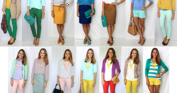 Everyday fashion for working women